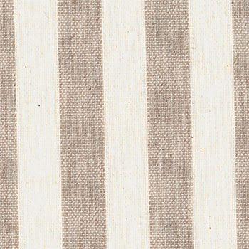 870249 Tekstilvoksdug hørlook/ubleget strib