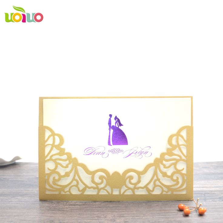 Find More Cards & Invitations Information about 50pc Sample Gold White Black Laser Cut couple Wedding Invitations Card Elegant Lace Envelopes & Seals Event & Party Supplies,High Quality wedding invitation card envelope,China white card Suppliers, Cheap envelope card from uoiuo customize wedding & party Store on Aliexpress.com
