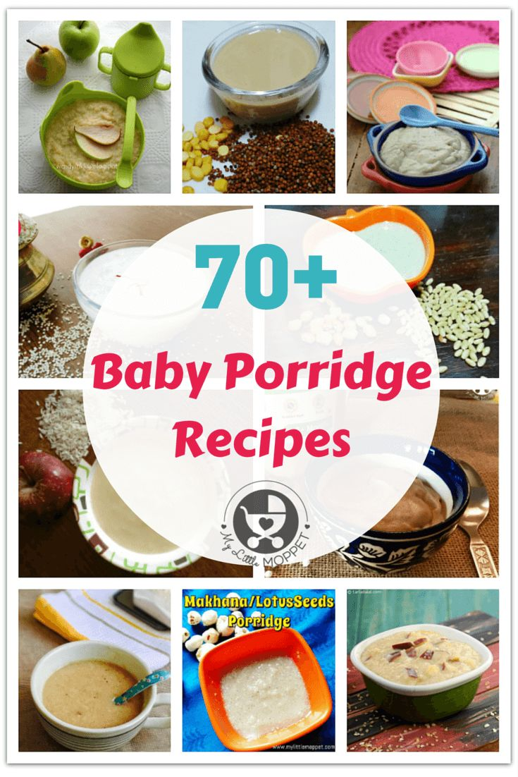 When you start weaning, porridge is an important part of your baby's diet. Give your baby a good variety and nutrition with these 70+ Baby Porridge Recipes!