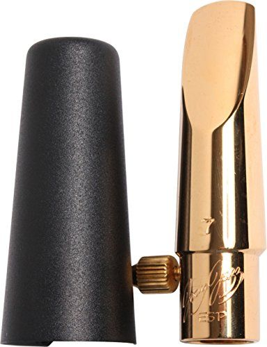 JodyJazz ESP Gold Alto Sax Mouthpiece Facing 7 (.083)  The ESP Alto Saxophone mouthpiece is a saxophone mouthpiece for everyone  Remove the spoiler for a lush, traditional sound  Replace the spoiler and you can achieve all of the edge a contemporary player desires  The new ESP Gold Alto Saxophone mouthpiece is a saxophone mouthpiece for everyone  Traditional Jazz players will find a warm round sounding piece that can produce the sounds of Bird, Cannonball, and Johnny Hodges