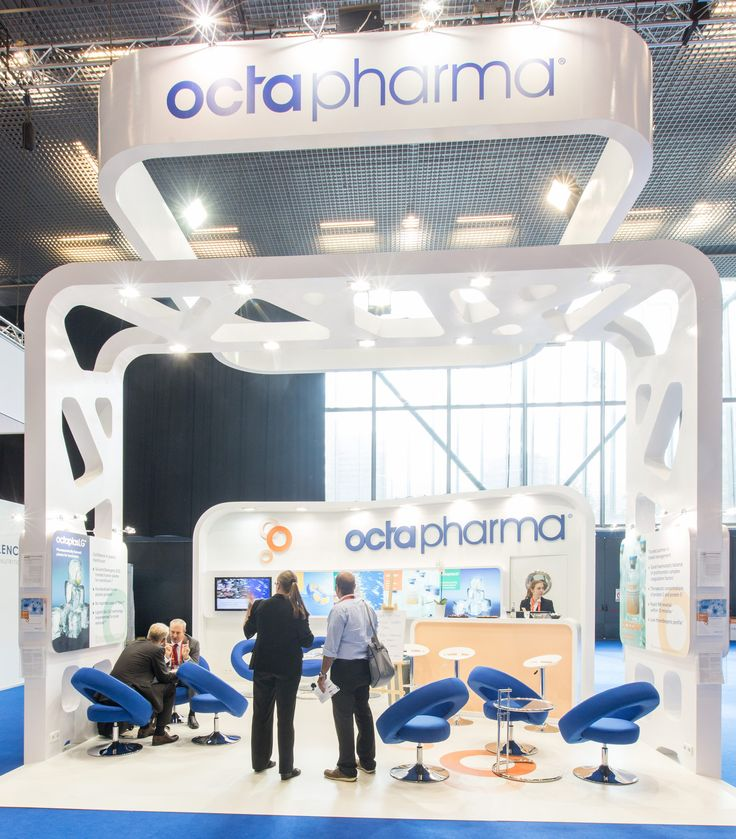 OCTAPHARMA ESICM BARCELONA 2014 PRO EXPO Exhibition Stand design building. We Provided Efficient, sustainable, creative and powerful impact.