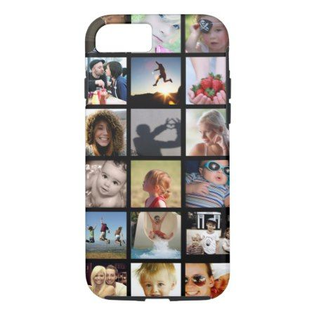 Customer Photo Collage iPhone 7 Case (-Mate) - click to get yours right now!