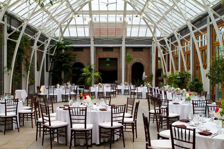 Tower Hill Botanic Garden In Boylston Ma Wedding Reception In The Great Hall Image By