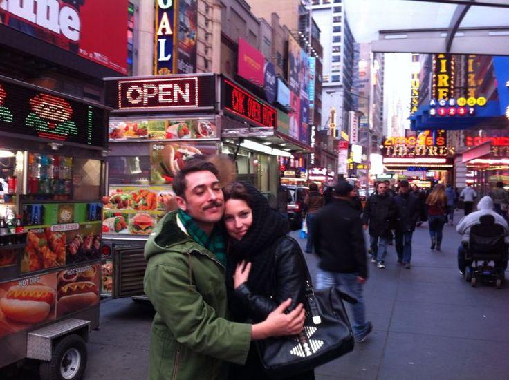 Con mi Osa Cecilia en NYC 2014 ! <3