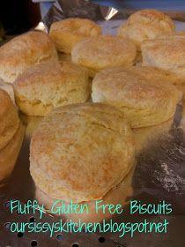 Sissy's Kitchen: Gluten Free Biscuits Finally Fluffy!