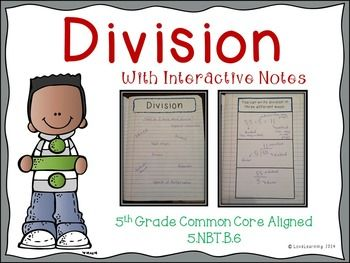 division lesson with interactive notes word problems and assessment multiplication. Black Bedroom Furniture Sets. Home Design Ideas
