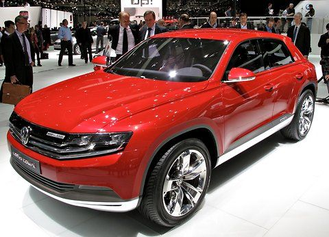 More on VW Cross Coupe TDI Concept