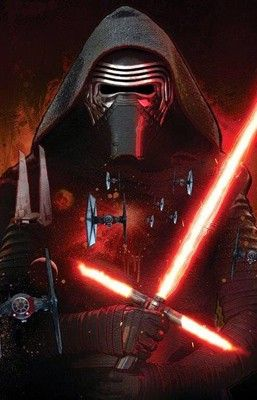 Arte conceitual do vilão Kylo Ren, de 'Star Wars' (Foto: Reprodução/Making Star Wars)