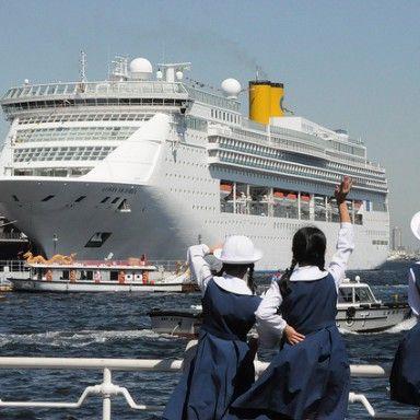 0029 港町旅情・豪華客船の旅へ/横浜