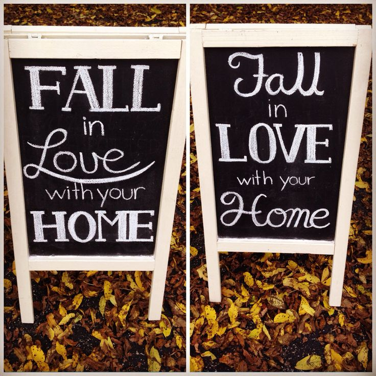 Fall in love with your home scriptwork and Sandwich board from Dayna Vago Designs