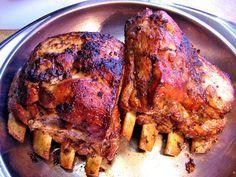 Das perfekte Dicke Rippchen aus dem Ofen ....-Rezept mit einfacher Schritt-für-Schritt-Anleitung: Den Backofen mit einem Bräter auf 220 Grad…
