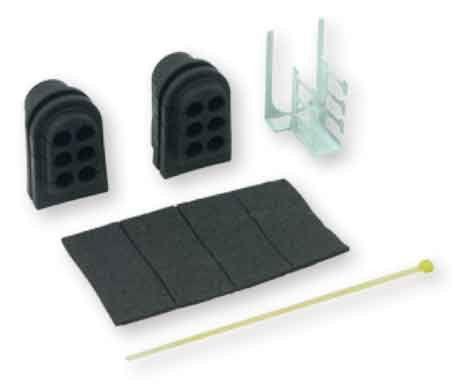 6-port Drop Cable Grommet 1 set/port