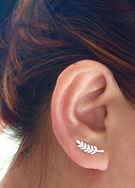 Handmade Jewelry // Sterling silver ear or ear ear blade by JCoJ …