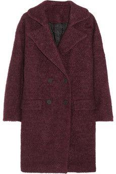 Karl Lagerfeld Hadley oversized bouclé coat | NET-A-PORTER