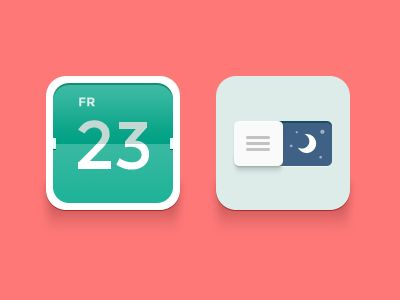Flat Calendar Icon 18 Incredible Flat Icon Designs