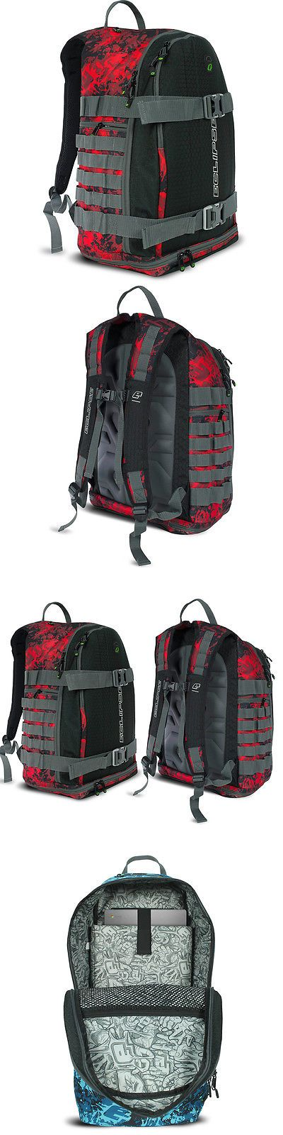 Equipment Bags and Cases 64672: Planet Eclipse Gx Gravel Bag - Back Pack - Fire -> BUY IT NOW ONLY: $79.95 on eBay!