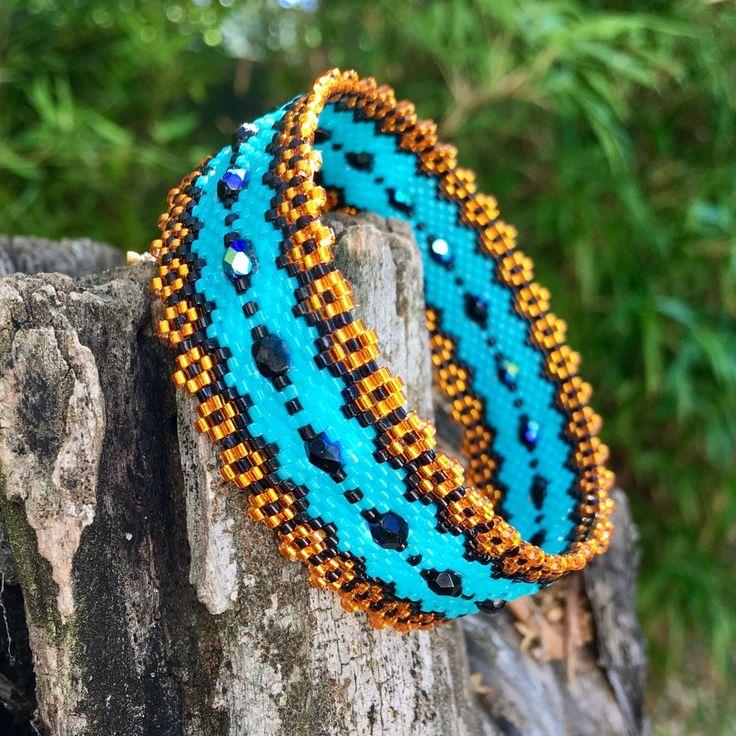 Très 2049 best Peyote Stitch images on Pinterest | Peyote bracelet  MW73