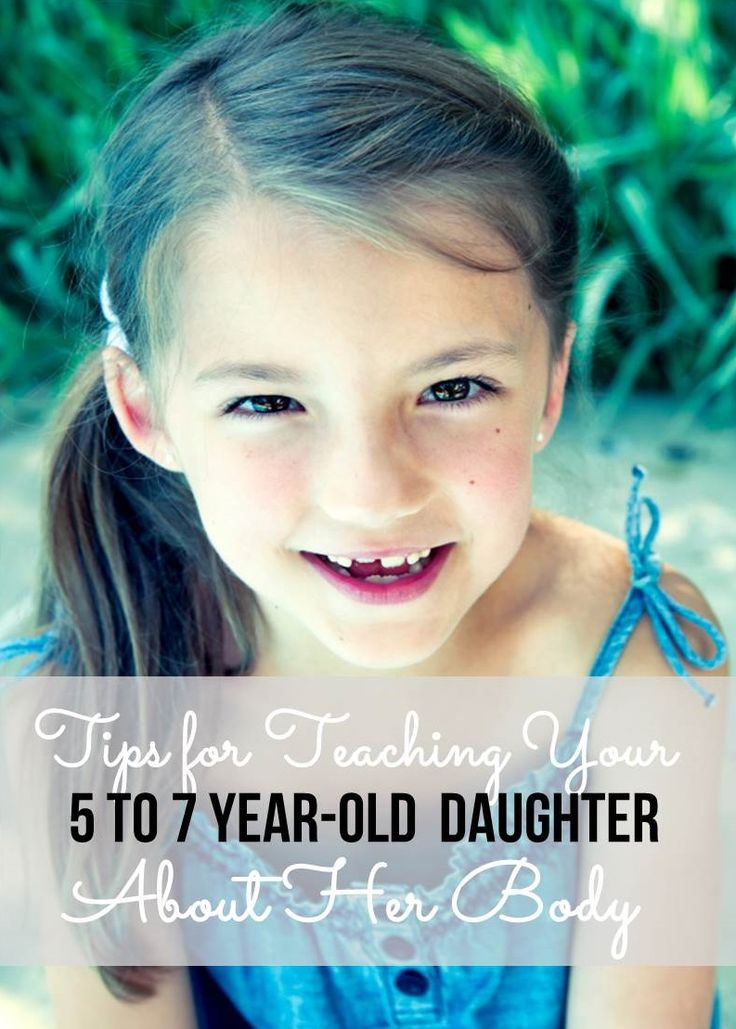 Teaching a 5 to 7 year old girl about her body - tips for how to handle it! http://www.anatomyforkids.com/news/tips-for-teaching-your-five-to-seven-year-old-daughter-about-her-body/