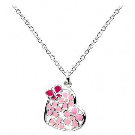 Kit Heath Blossom Silver Locket Necklace