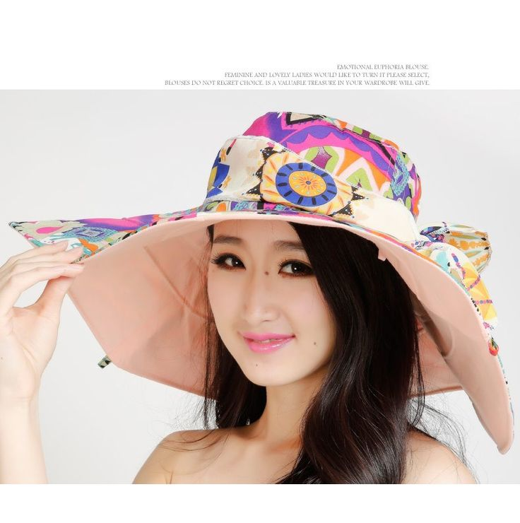 Aliexpress.com : Buy Women summer large brimmed hat UV sunscreen beach hat child child sided collapsible sun hat from Reliable hat hole suppliers on Dongguan TINLV Global Trade Co.,Ltd    Alibaba Group