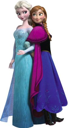 Frozen - Imágenes de Ana y Elsa.                                                                                                                                                     Más