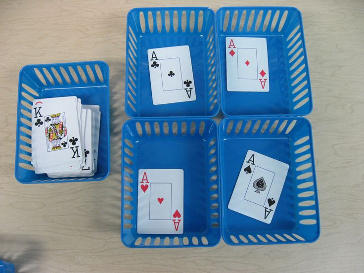 probability playing card and vocational training High or low: a game of probability tweet:  giving each one no more than 10 regular playing cards each group would have a different set of cards and probabilities .