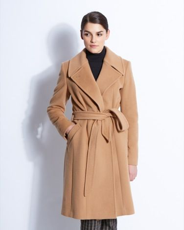 Cashmere and wool-blend camel coat from Paul Costelloe Living Studio