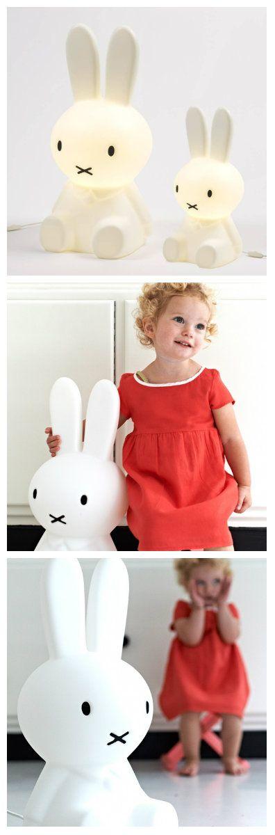 Miffy - лампа в виде кролика для детской комнаты. Достаточно крупных размеров светильник может быть установлен в любом месте в детской и будет отлично играть роль не только источника света, но и игрушки. #освещение #светодиоды #лампа #светильники #светодиодноеосвещение #светодиодныесветильники #светодиодныелампы #лампакролик #лампадлядетской #лампаигрушка