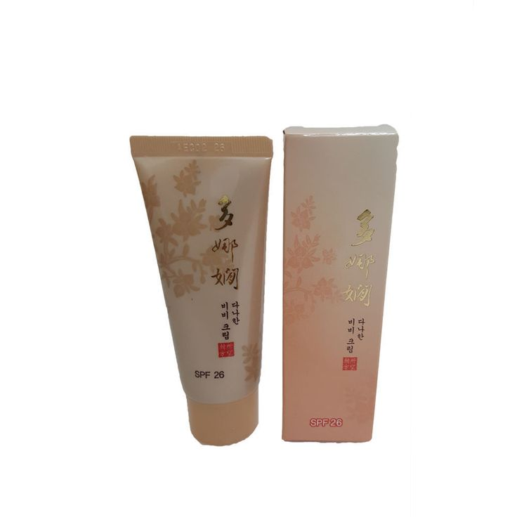 Koreana Cosmetics Benecos Face Care Danahan BB Cream (Sunblock SPF 26) #Benecos