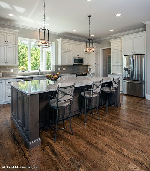 House Plans Kitchen Island