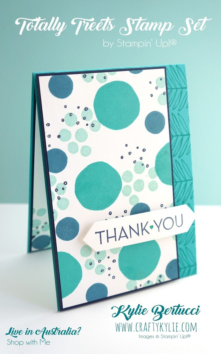 Kylie Bertucci - Totally Trees Stampin' Up!® Stamp set. Click on the picture to see more!