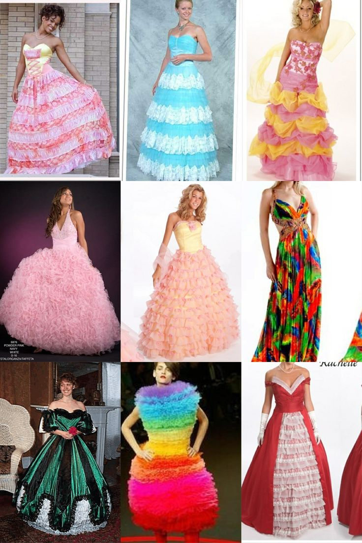 Ugly dresses- or not cute