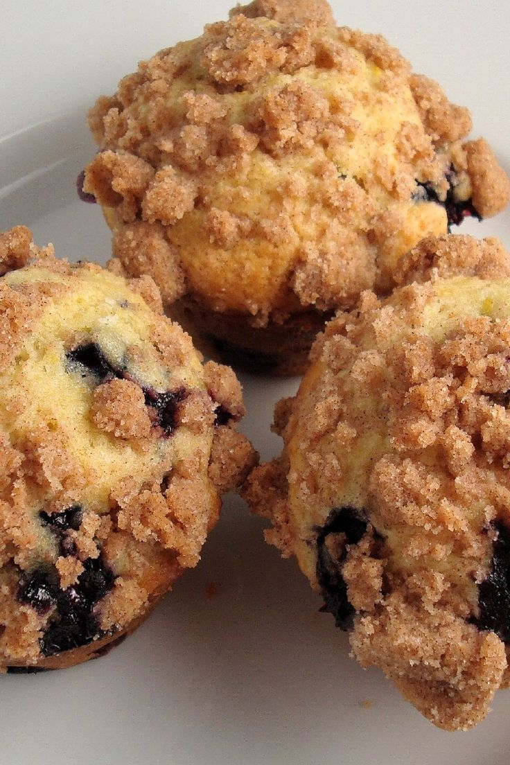 To Die For Blueberry Muffins, I switched out the regular sugar for ...