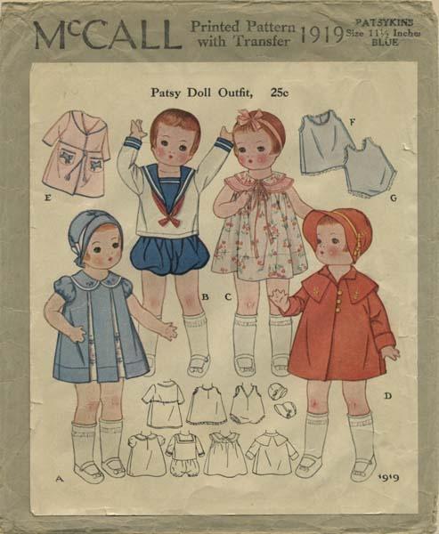 67 best Vintage doll clothes images on Pinterest | Doll patterns ...