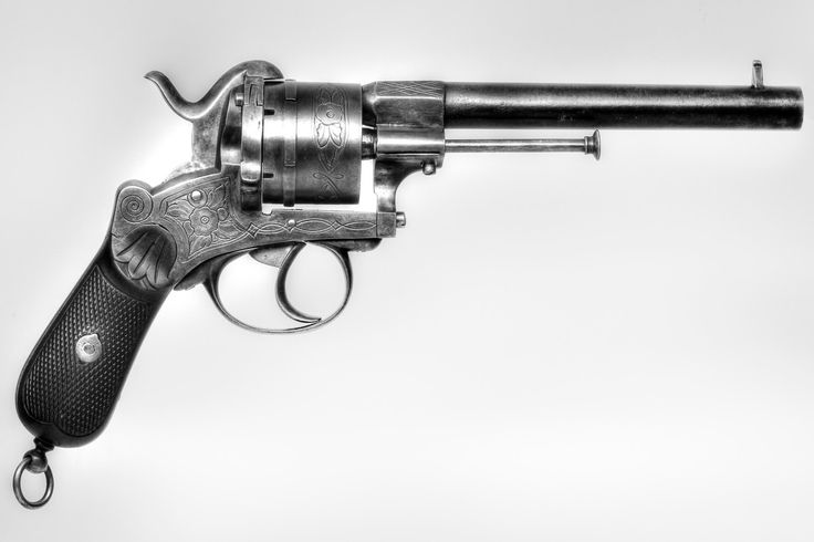 12mm Belgian Pinfire Revolver