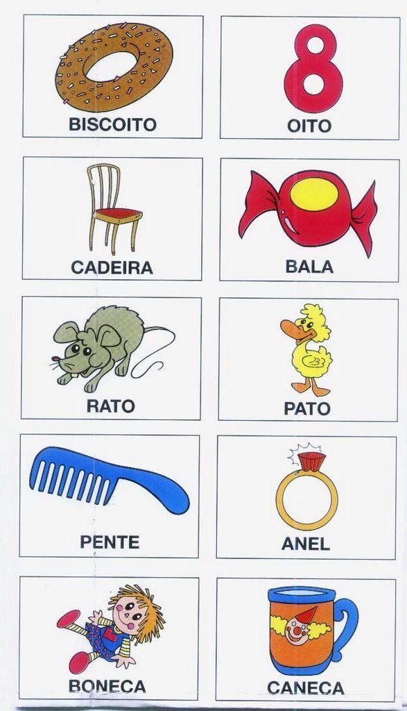 ESPAÇO EDUCAR: Jogo da memória com rimas!