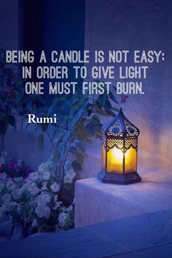 """Rumi was a 13th-Century Persian Muslim poet. Rumi's influence transcends national borders and ethnic divisions. Rumi has been described as the """"most popular poet"""" and the """"best selling poet"""" in the United States. Rumi was full of wisdom, and you can see this in most of the quotes he had said. Here we brought you our collection of the most influential quotes said by Rumi."""