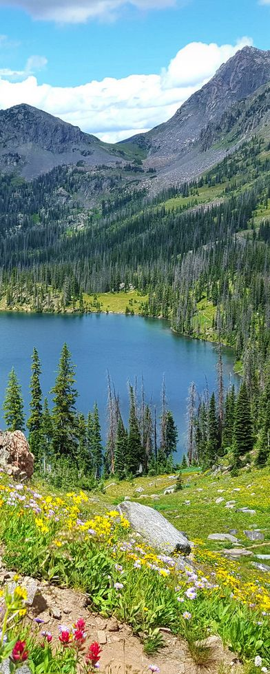 Gilpin Lake, Colorado, USA