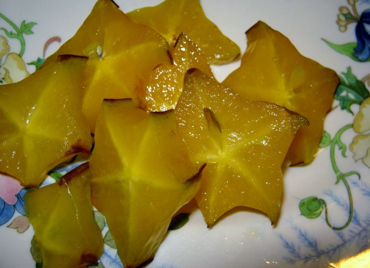 star fruit - enjoy the taste and plant the seeds.