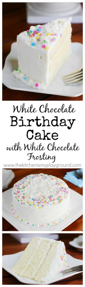 White Chocolate Birthday {or Easter} Cake & Tastebuds Popcorn GIVE-AWAY!