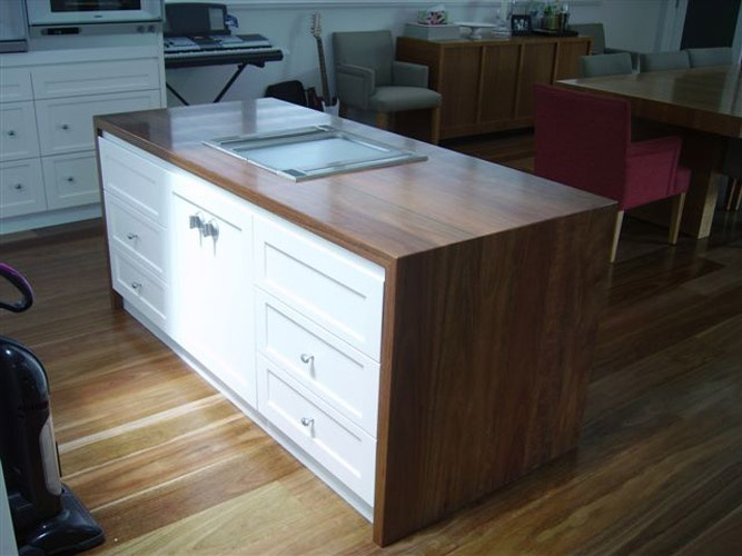Solid Timber kitchen bench tops