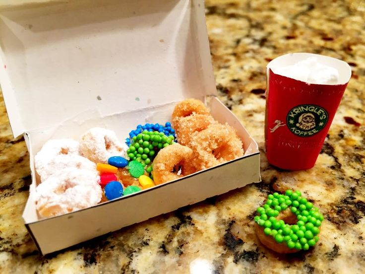 1000+ images about elf donuts on Pinterest   Pill boxes
