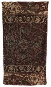Casbah Rug - Eggplant/Taupe