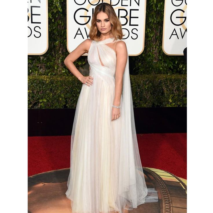 Cheap carpet weight, Buy Quality carpet brush directly from China carpet warehouse Suppliers: 2016 Golden Globe Award Lily James Forma Tulle Celebrity Evening Dress Tulle Floor Length Formal Party Gowns  Red Carpet Dresses