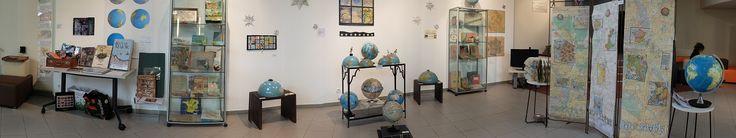 Ecole supérieure du professorat et de l'éducation - Installation d'un cabinet de curiosités sur la représentation du monde à travers les cartes, les globes et des créations singulières