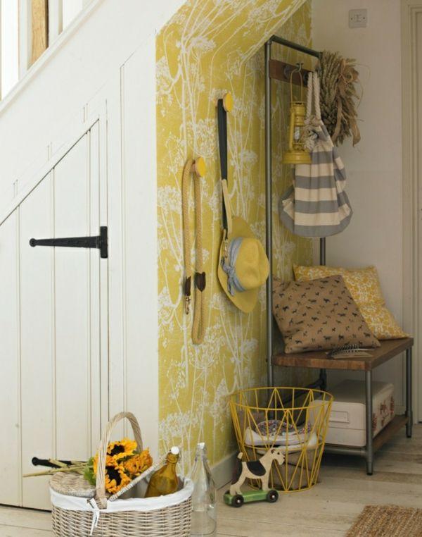 25+ ide terbaik tentang Tapeten mit muster di Pinterest Wand - küche tapezieren ideen