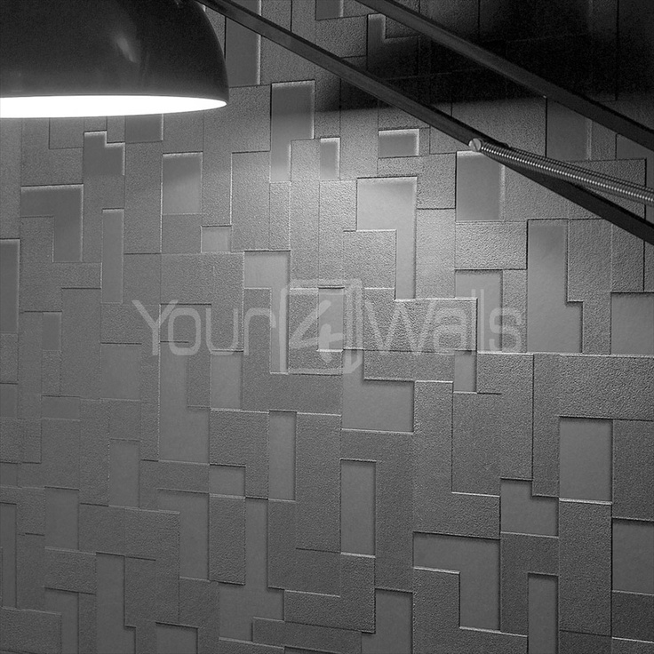67 best office space design images on pinterest cool for Brick wallpaper office
