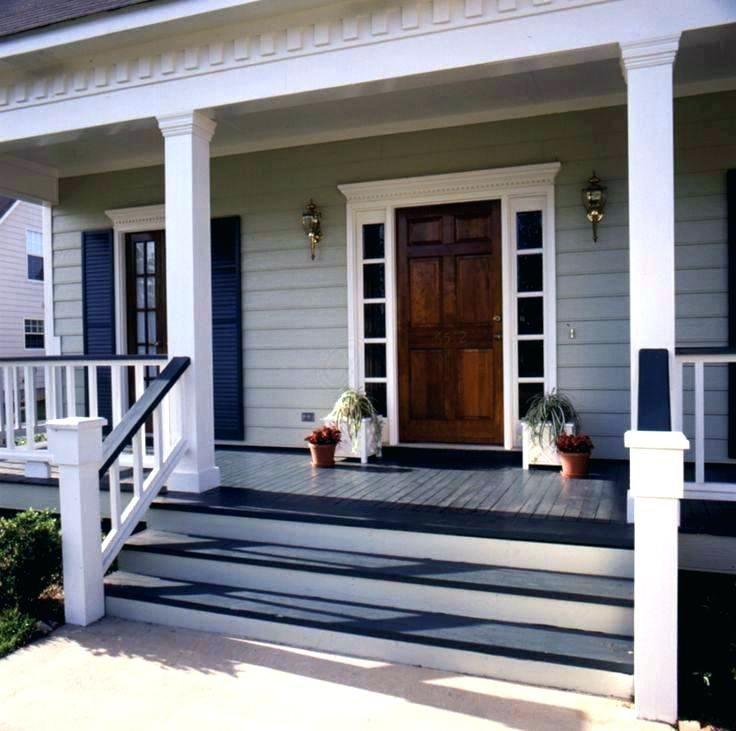 Cedar Steps For Front Door Mobile Home Porch Front Porch Steps