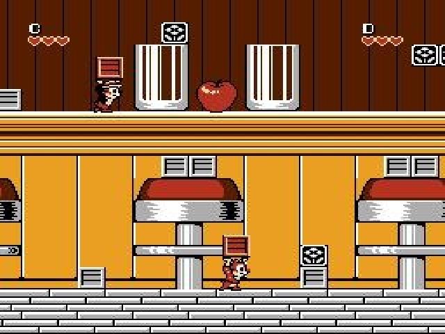 [NES] Chip 'n Dale: Rescue Rangers