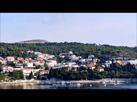 Hvar main square is dominated by an impressive cathedral.  For port reviews, photo  tours and travel videos, visit our page here:  http://luxurytravelboutique.cruiseholidays.com/travelogues/windstar-cruises-venetian-passages.aspx